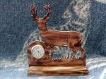 View details for this Deer Clock