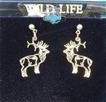 View details for this Elk post earrings