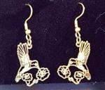 View details for this Hummingbird wire earrings