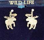View details for this Moose post earrings