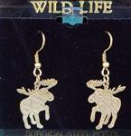 View details for this Moose wire earrings