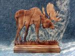 View details for this Wooden Moose