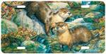 View details for this Otter Animal Art License Plate