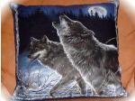 View details for this Wolf Pillow